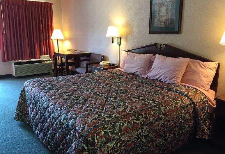 Red Carpet Inn Macon, Macon, Standard szoba, 1 king (extra méretű) franciaágy, dohányzó, Vendégszoba