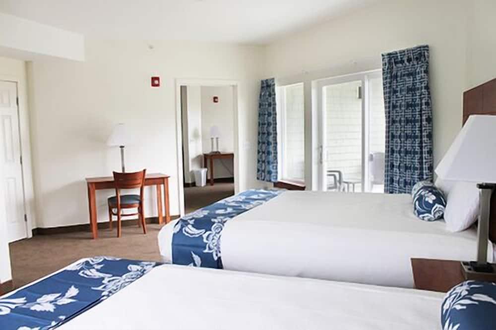 Apartmán typu Deluxe, 2 spálne, bezbariérová izba, balkón - Hosťovská izba