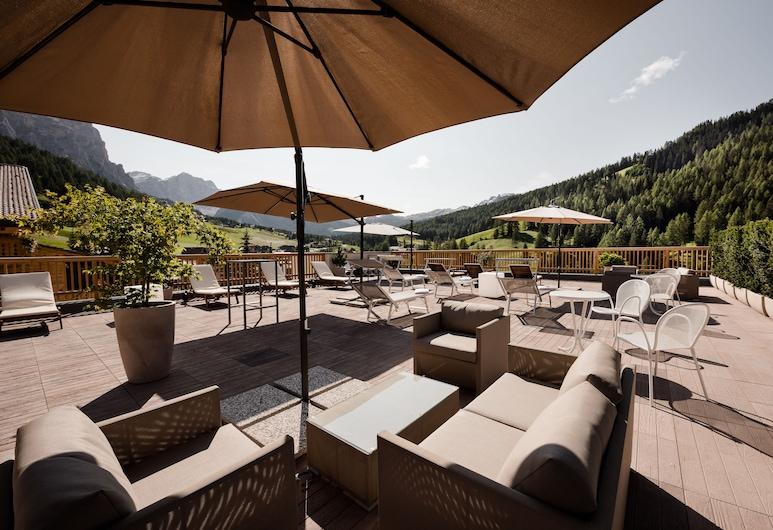 Hotel Diamant, Badia, Terrace/Patio