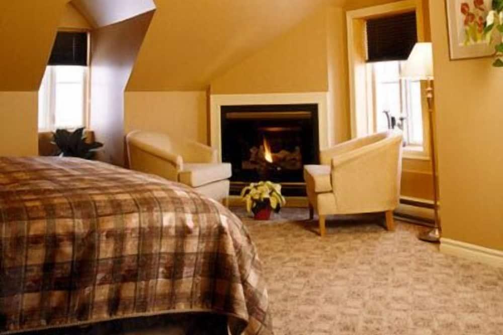 Suite Deluxe, 1 très grand lit (Sir David) - Coin séjour