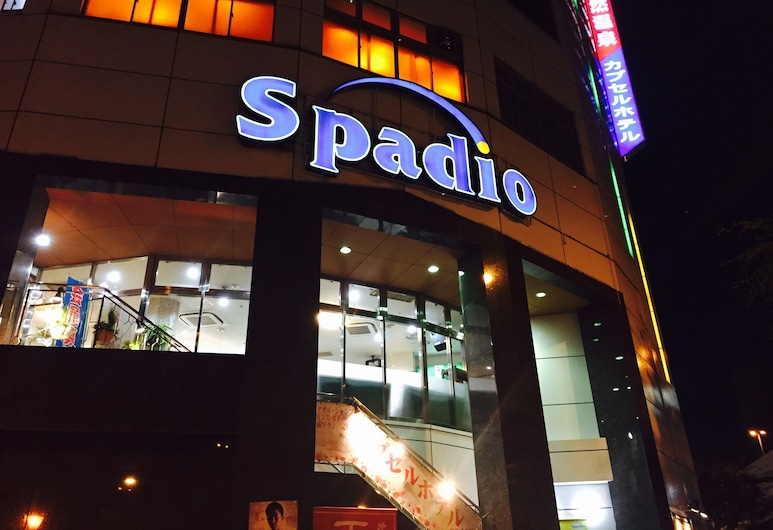 Sauna & Capsule Spadio Hotel, Osaka, Pohľad na hotel – večer/v noci