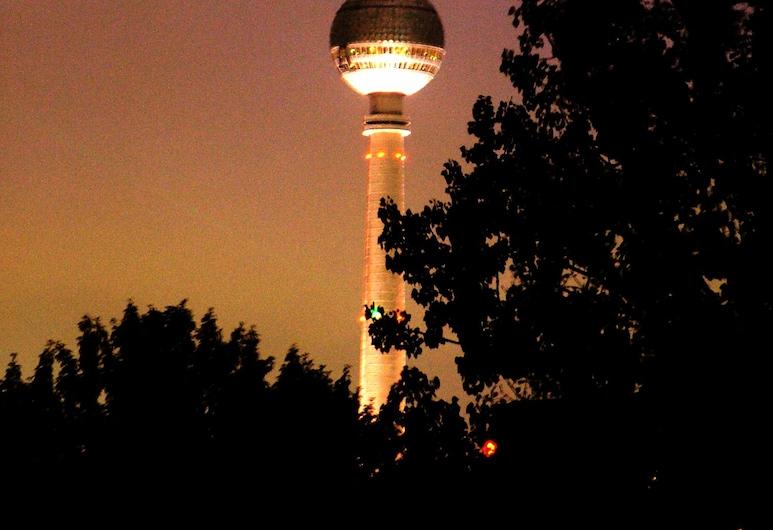 city ALEX & park, Берлин, Вид из объекта
