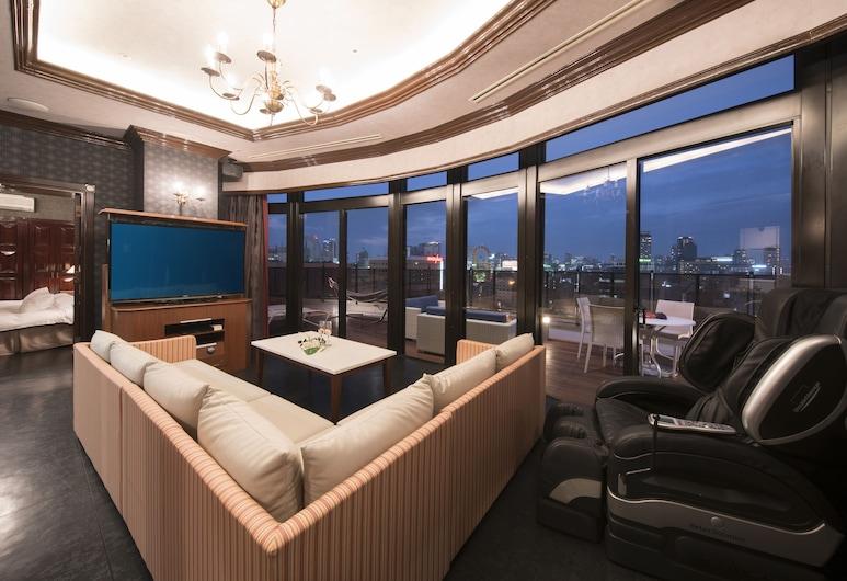 Hotel Alps (Adult Only), Osaka, Numeris verslo klientams, Nerūkantiesiems, Svetainės zona