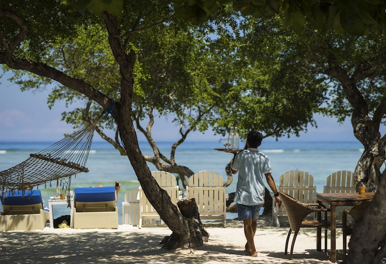 Gili Teak Resort, Gili Trawangan, Beach