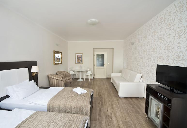Hotel Sunrise, Praga, Quarto casal ou duplo superior, Banheiro privativo, Quarto