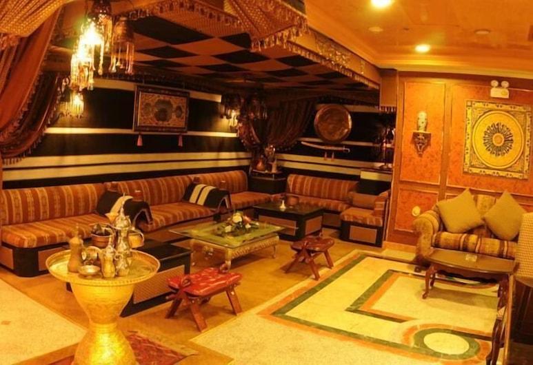 Al Ansar New Palace Hotel, Medina, Sittområde i lobbyn