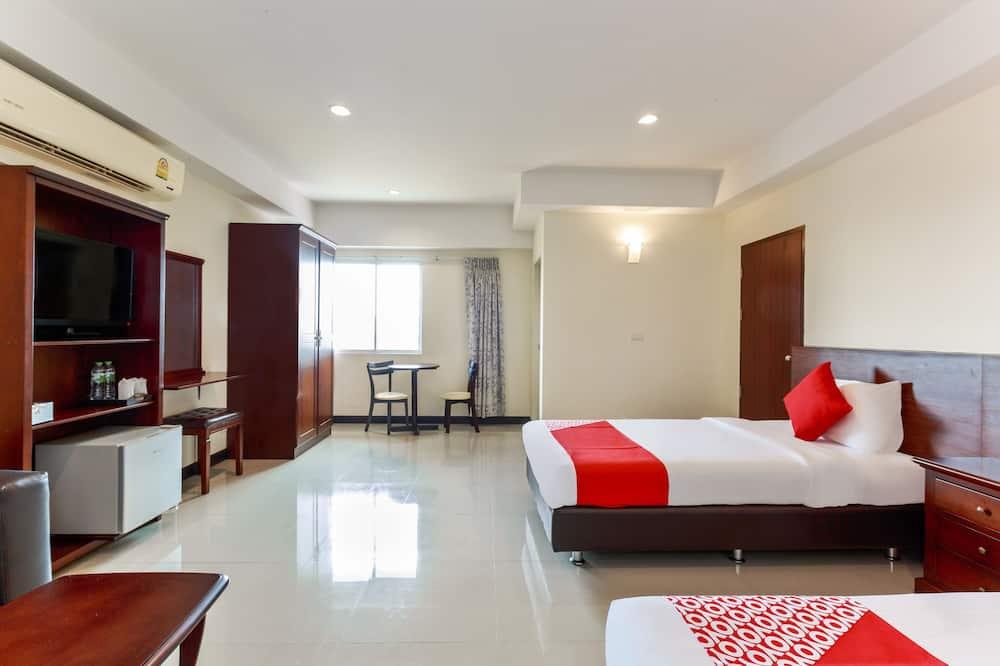 Deluxe szoba kétszemélyes ággyal, 1 kétszemélyes ágy - Vendégszoba