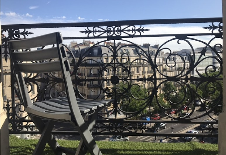 Hotel Saint-Marcel, Paris, Chambre Double, balcon, Balcon