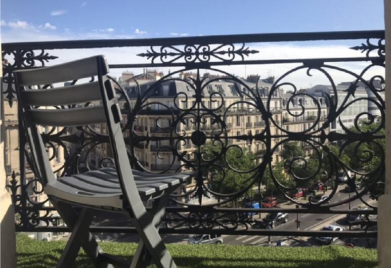 Hotel Saint-Marcel, Parijs, Tweepersoonskamer, Balkon, Balkon
