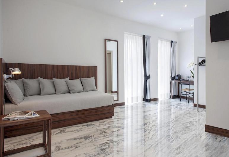 My Bed Montenapoleone, Μιλάνο, Junior Σουίτα, Βεράντα, Θέα στην Πόλη (check-in only until 7.00 pm), Δωμάτιο επισκεπτών