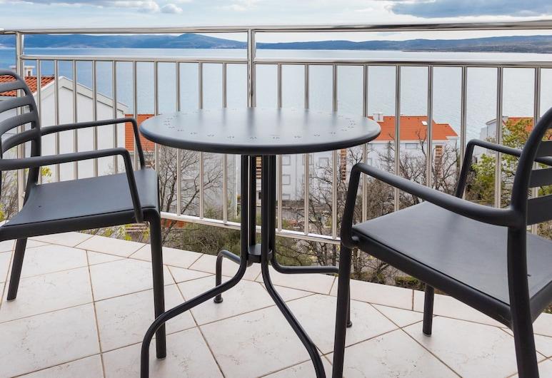Apartments Jadranka, Crikvenica, Departamento, 3 habitaciones, balcón, vista al mar, Terraza o patio