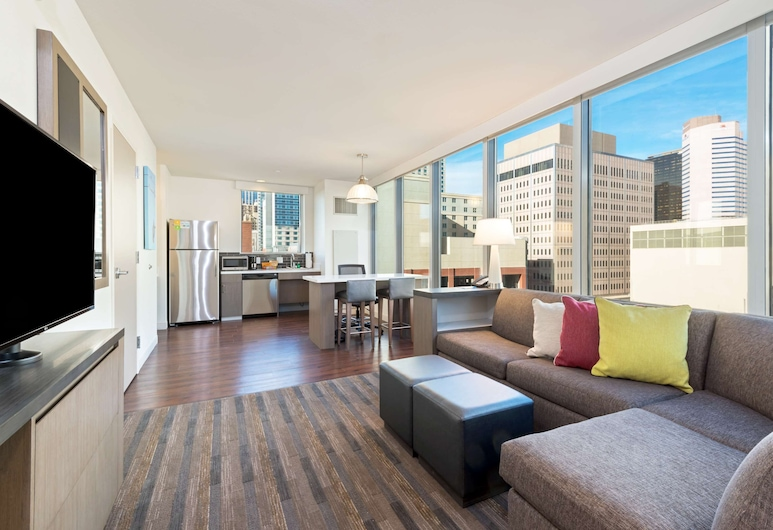 Hyatt House Denver Downtown, Denver, Suite, 1 King Bed with Sofa bed, Accessible, Guest Room