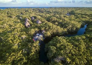 Fotografia do MangleX Cenote Eco Hotel em Tulum