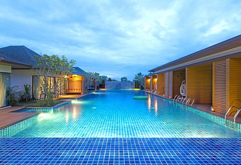 梵華欣渡假村, 七岩, 室外泳池
