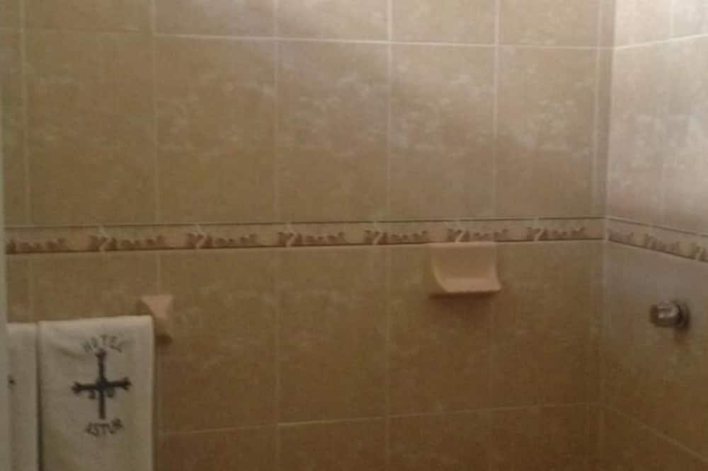 Bruser på badeværelset