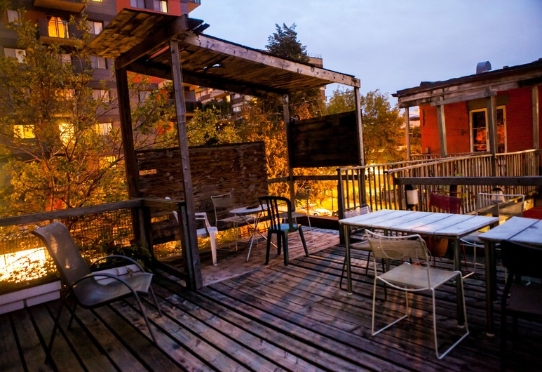 Alexandrie Montreal, Montreal, Terrace/Patio