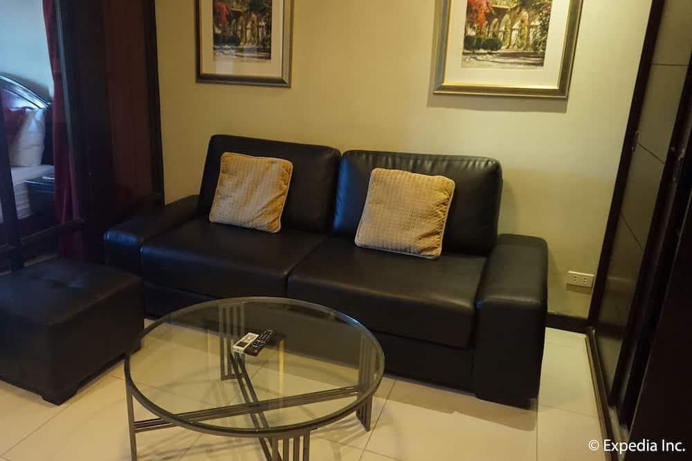 Apartmá, nekuřácký, vířivka - Obývací prostor