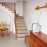 Alpehytte - 1 soveværelse - terrasse - Stue