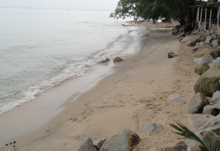 Shamrock Beach Villas Penang Seaview, Džordž Taunas, Paplūdimys