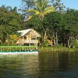 Cabaña superior, vistas al río - Lago