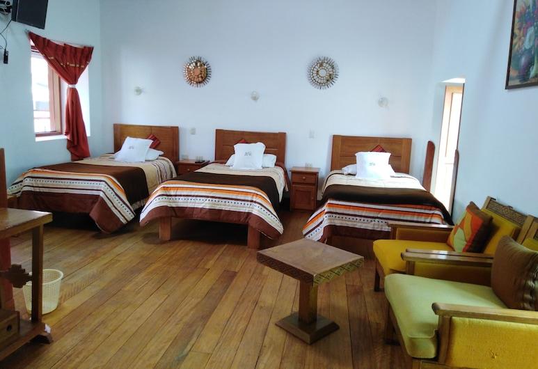 Casa San Pedro, Cusco, Dreibettzimmer, Zimmer