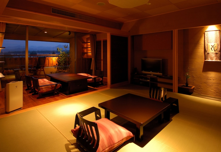 Rurikoh, Kaga, Suite Room A with Open-air bath, Twin beds, Non-Smoking, Guest Room