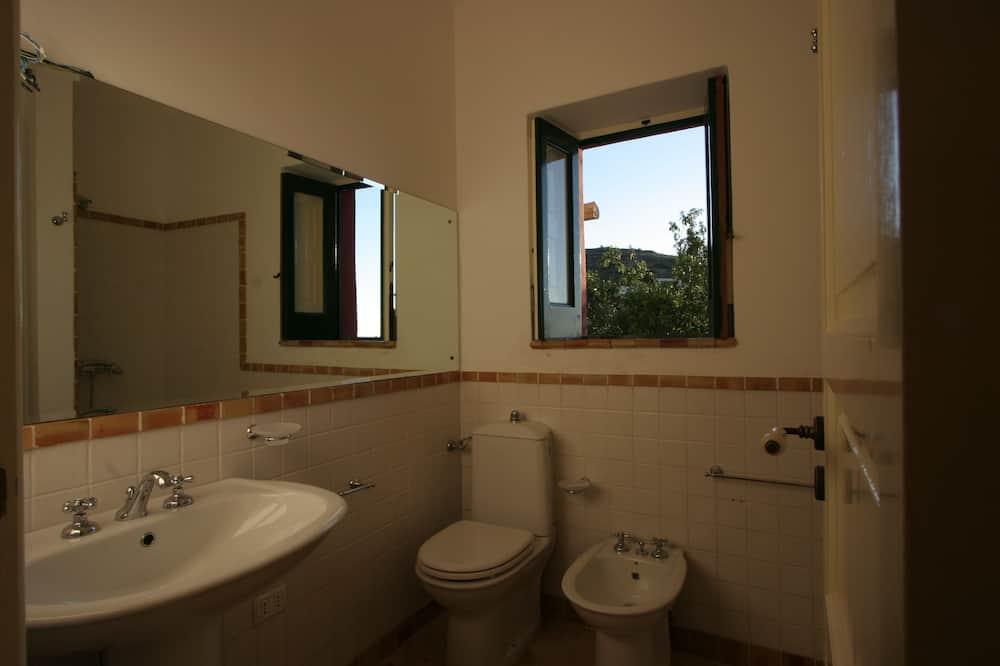 Habitación clásica doble, terraza - Cuarto de baño