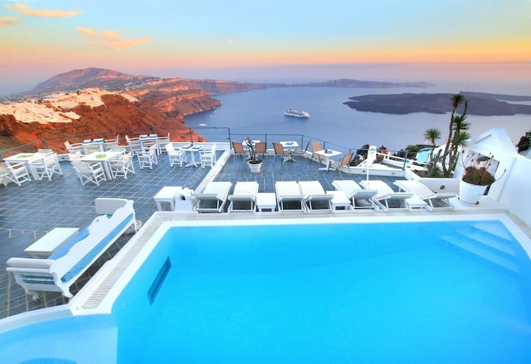 Zenith Blue, Santorini
