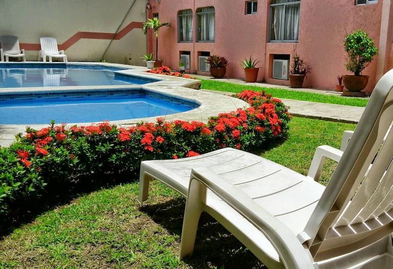 Hotel Plaza Jardín, Boca del Río, Terraza
