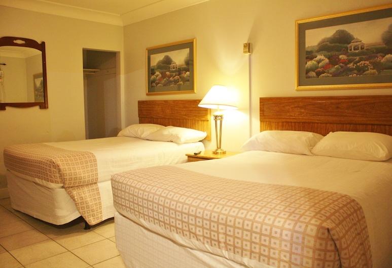 Tulip Motel, Vudstokas, Vardinės klasės kambarys, 2 standartinės dvigulės lovos, Rūkantiesiems, Svečių kambarys