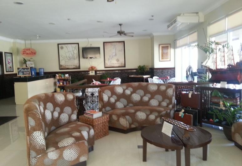 Crown Port View Hotel, Cebu, Lobby Sitting Area