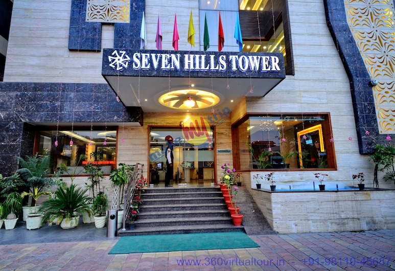 Hotel Seven Hills Tower, Agra, Hotel Entrance