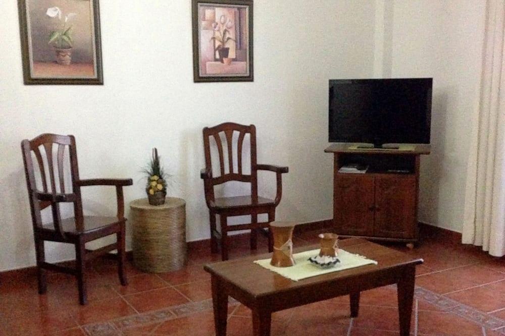 อพาร์ทเมนท์, 1 ห้องนอน, ปลอดบุหรี่, วิวทะเล - พื้นที่นั่งเล่น