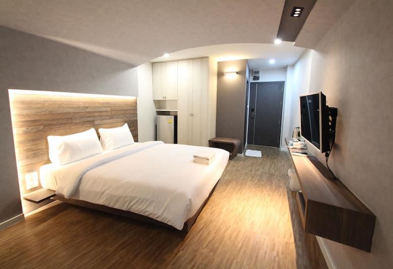 Preme Hostel, Μπανγκόκ, Superior Δωμάτιο, 1 King Κρεβάτι, Δωμάτιο επισκεπτών