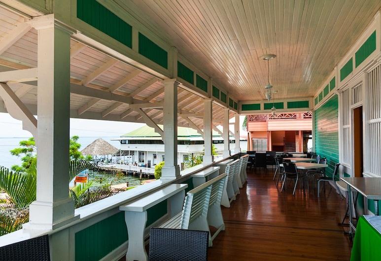 Gran Hotel Bahia, Bocas del Toro, Açık Havada Yemek