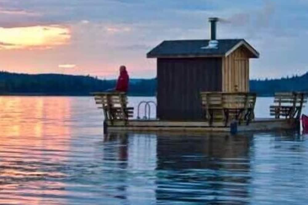 Romantična kućica, 1 queen size krevet, sauna, pogled na jezero - Sadržaji u sobi
