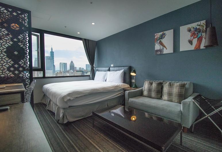 NK Hostel, Taypey, Standard Tek Büyük Yataklı Oda, Oda