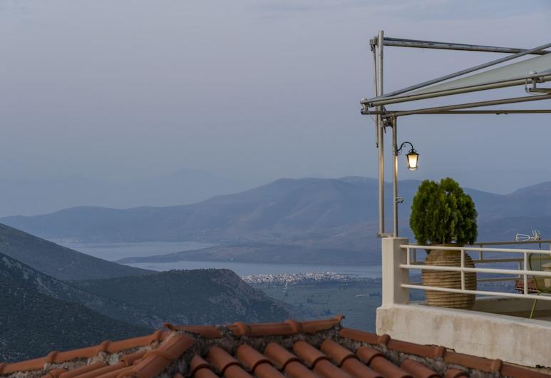 Kastalia Boutique Hotel, Delphi, Quarto, Quartos Comunicantes, Vista Mar, Quarto