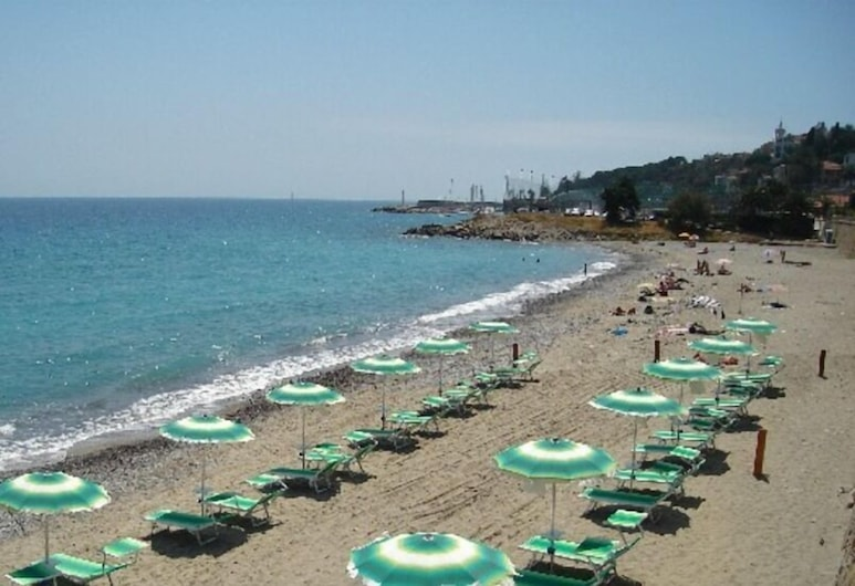 Hotel Lora, Bordighera, Playa