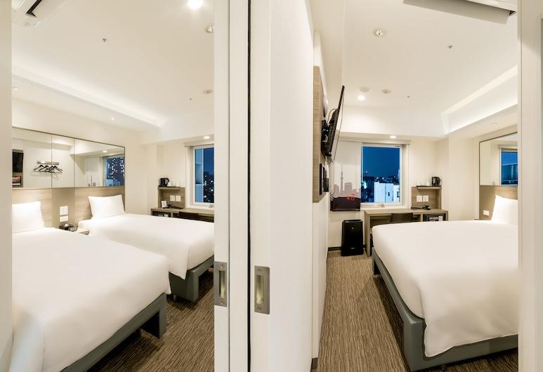 東京淺草紅色星球飯店, 東京, 雙床房, 非吸煙房, 客房