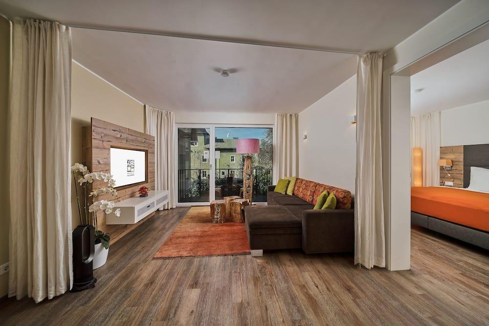 Căn hộ Deluxe (incl. cleaning fee €65) - Phòng khách