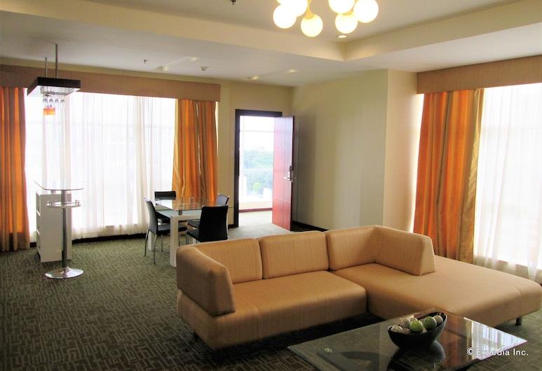 Marianne Suites, Cagayan de Oro, Penthouse, Living Area