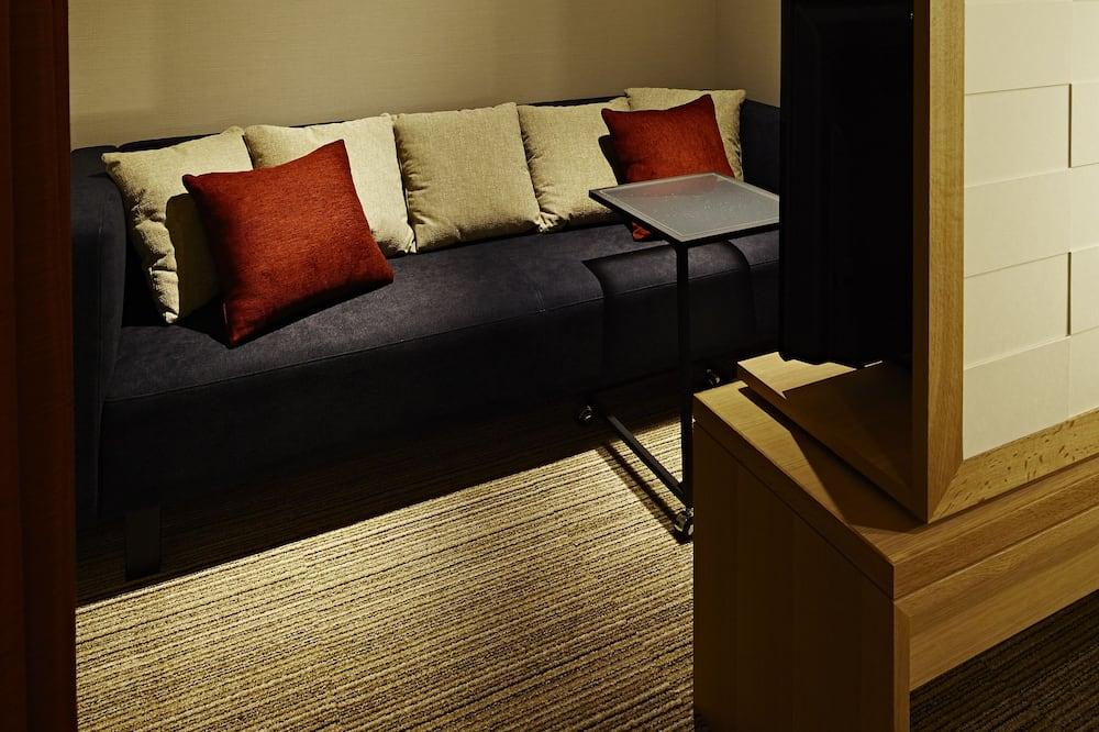 Luksusa numurs, nesmēķētājiem (Terrace) - Dzīvojamā istaba