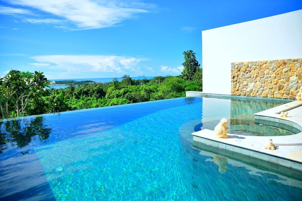 Villa, 3Schlafzimmer, eigener Pool - Terrasse/Patio