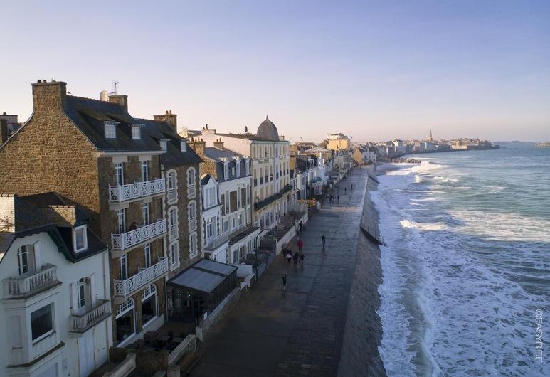 Hotel le Jersey, Saint-Malo, Plage