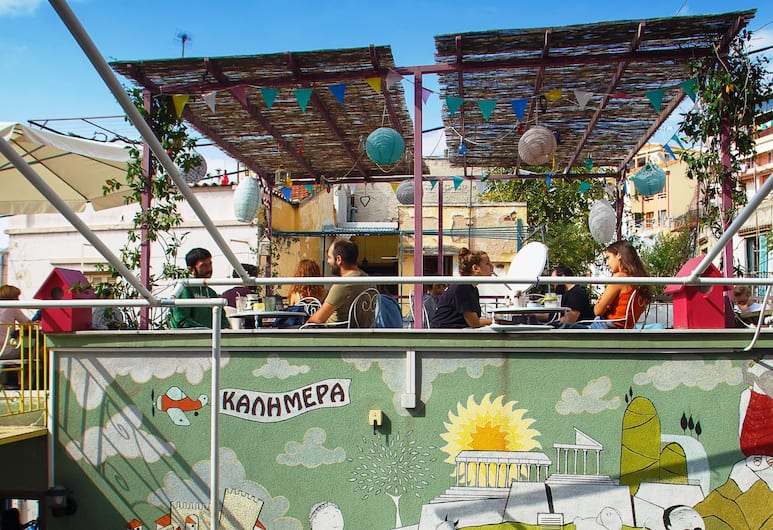 Little Big House, Selanik, Teras/Veranda
