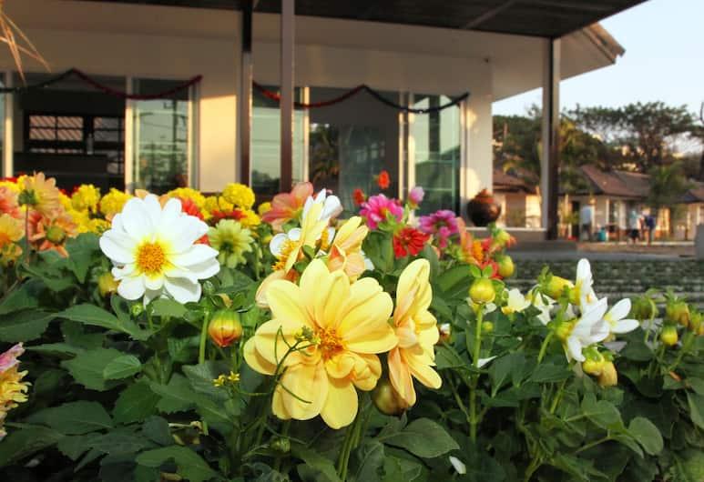 清萊蔚翠渡假村, 清萊, 酒店正面