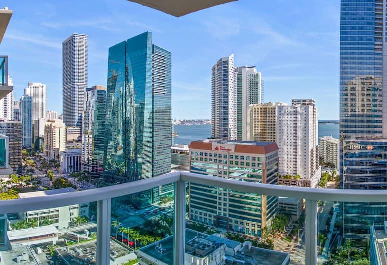 OB Brickell Miami, Miami, Studio, 1 Double Bed, City View, View from room