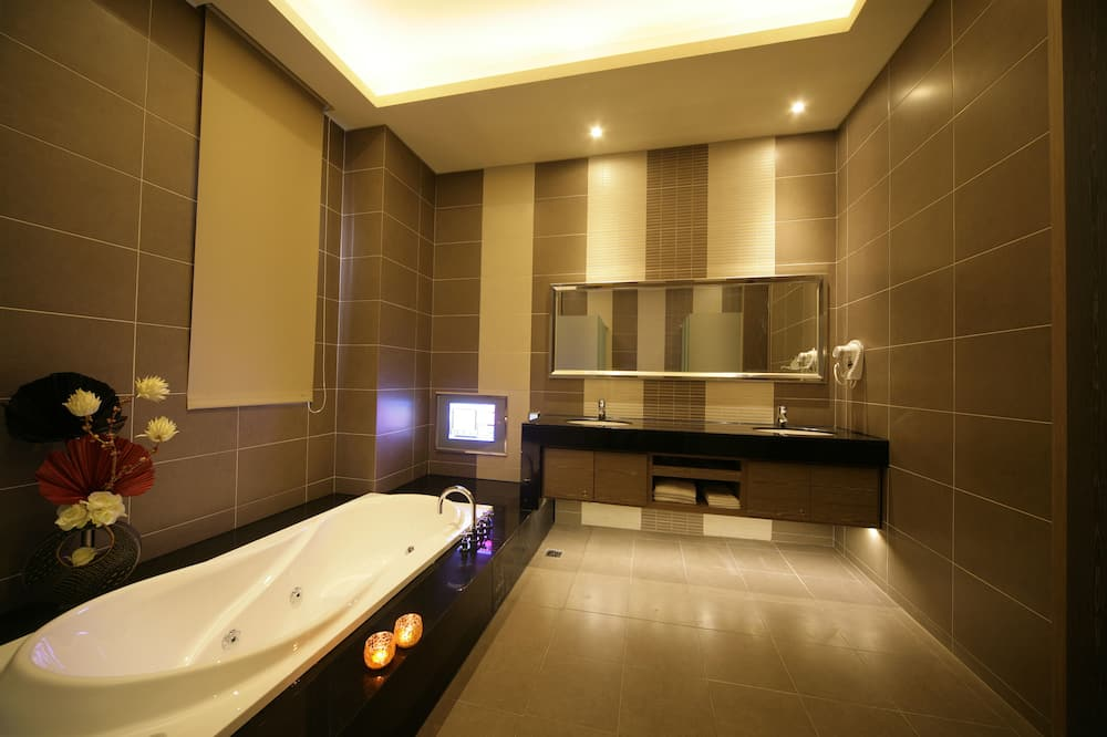 家庭四人房, 1 間臥室 - 浴室