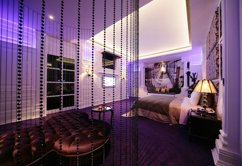 Dubai Villa Motel, Taičungas, Liukso klasės dvivietis kambarys, karšta vonia, Svečių kambarys